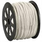 "1/4"", 1,150 lb, White Twisted Polypropylene Rope"