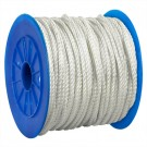 "1/4"", 1,480 lb. White Twisted Nylon Rope"