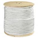 "1"", 25,000 lb, White Double Braided Nylon Rope"
