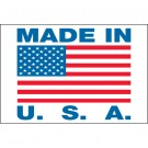 "2 x 3"" - ""Made in U.S.A."" Labels"