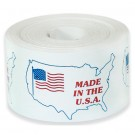 "3 x 4"" - ""Made in the U.S.A."" Labels"