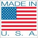 "4 x 4"" - ""Made in U.S.A."" Labels"