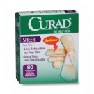Curad® Sheer Strip Bandages - Assorted Sizes