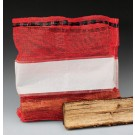 "18-1/2"" x 32"" Large Red Mesh Bag (1.5 cu.ft.)"
