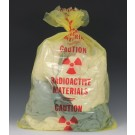 "24"" x 36"" Radioactive Waste Poly Bag (3 mil)"