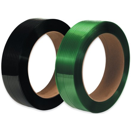 """16"""" x 3"""" Core Polyester Strapping - Smooth"""