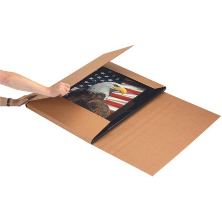 Jumbo Kraft Easy-Fold Mailers