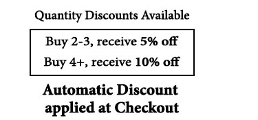 Discounts Applied for 2+ Products
